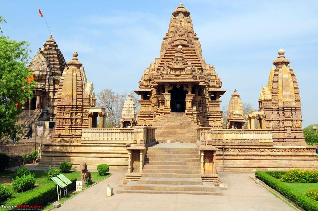 История храмов в Кхаджурахо