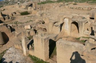drevnie carskie grobnicy korolej v pafose kipr