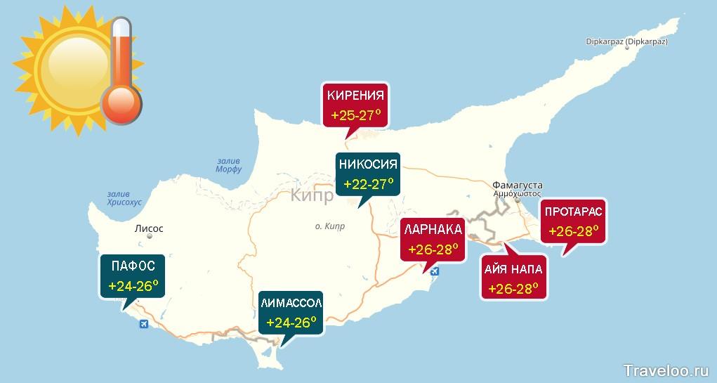 kipr v oktyabre otdyh i pogoda na kipre klimat