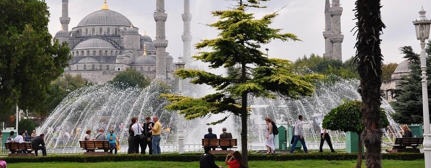 rajon sultanahmet v stambule dostoprimechatelnosti oteli foto