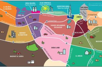 rajony dubaya na karte gde luchshe ostanovitsya turistam opisanie foto